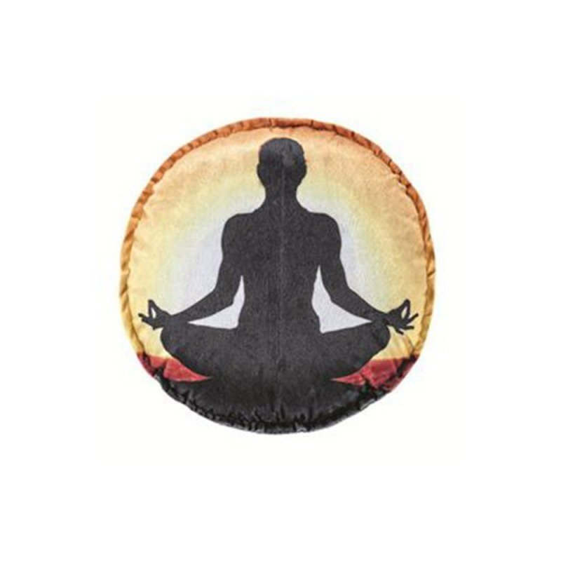 0b71a7a81c8b Almofada Redonda Estampado - Yoga 1