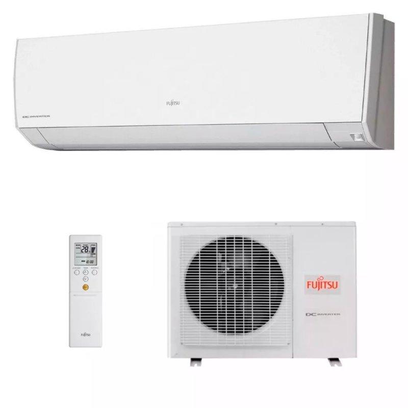 1e4e15660 Ar Condicionado Split Hi Wall Inverter Fujitsu 9.000 Btus Quente e Frio 220v