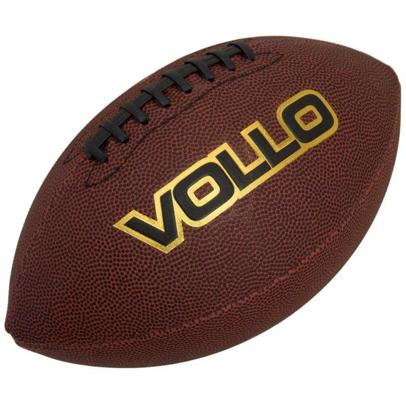 c386bec60f Bola de Futebol Americano VOLLO VF001 PVC Marrom - MadeiraMadeira