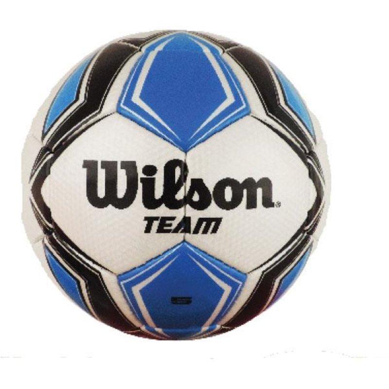 Bola de futebol de campo Team New N.5 Prata Preta Wilson ... 2e44d1459e8ce