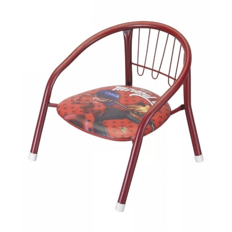 Cadeirinha Infantil com assento acolchoado Miraculous - MadeiraMadeira adfa87dc33ff3