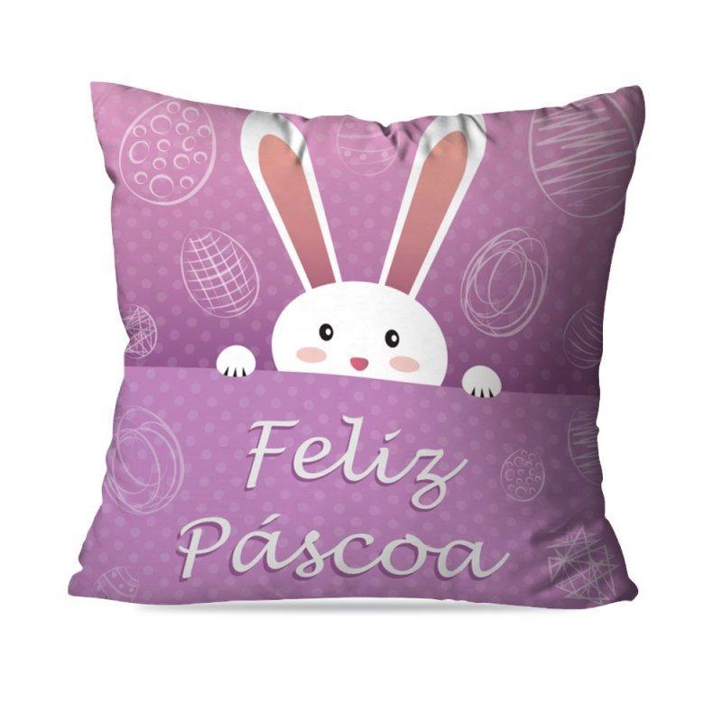 be2953b7a Capa de Almofada Páscoa Coelhinho Cute 45X45cm - MadeiraMadeira