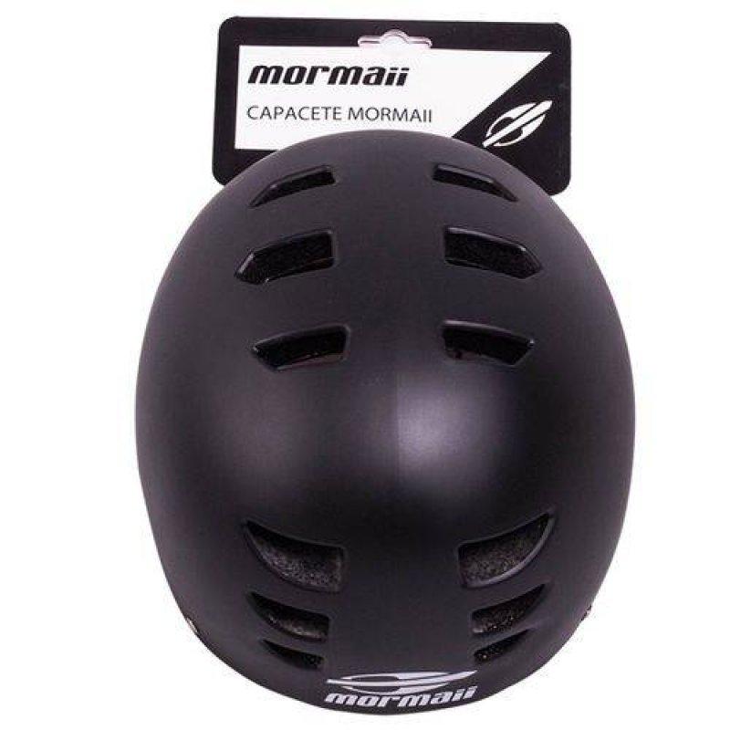 Capacete Esportivo Em Abs Preto M 497900 Mormaii - MadeiraMadeira bc1be7d0804