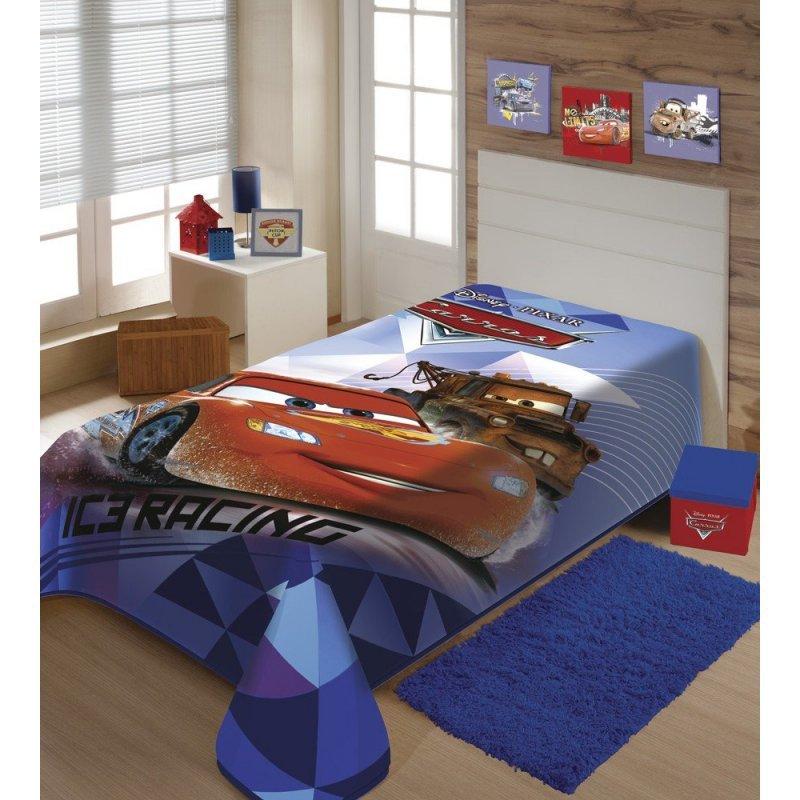 32dc02805e Cobertor Carros Disney Super Macio e Grosso - Raschel Jolitex
