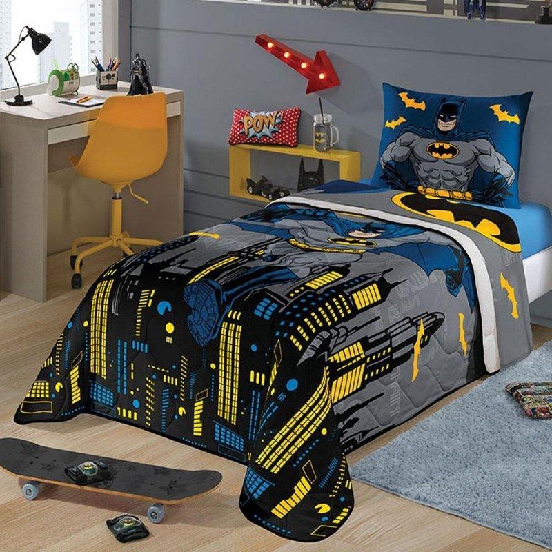 783127c977 Edredom infantil Batman menino personagens solteiro lepper