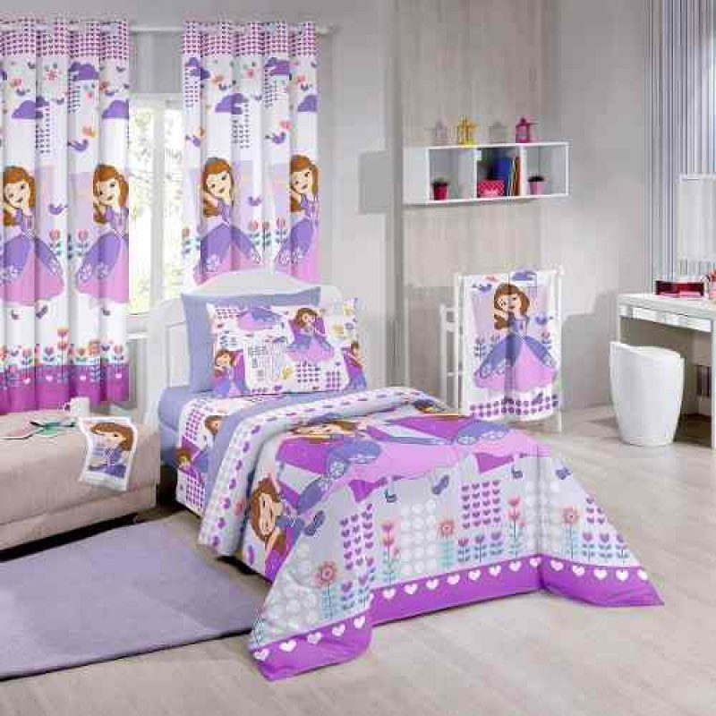 30780988f7 Edredom Infantil Disney menino E Menina Santista - Sofia Friends ...