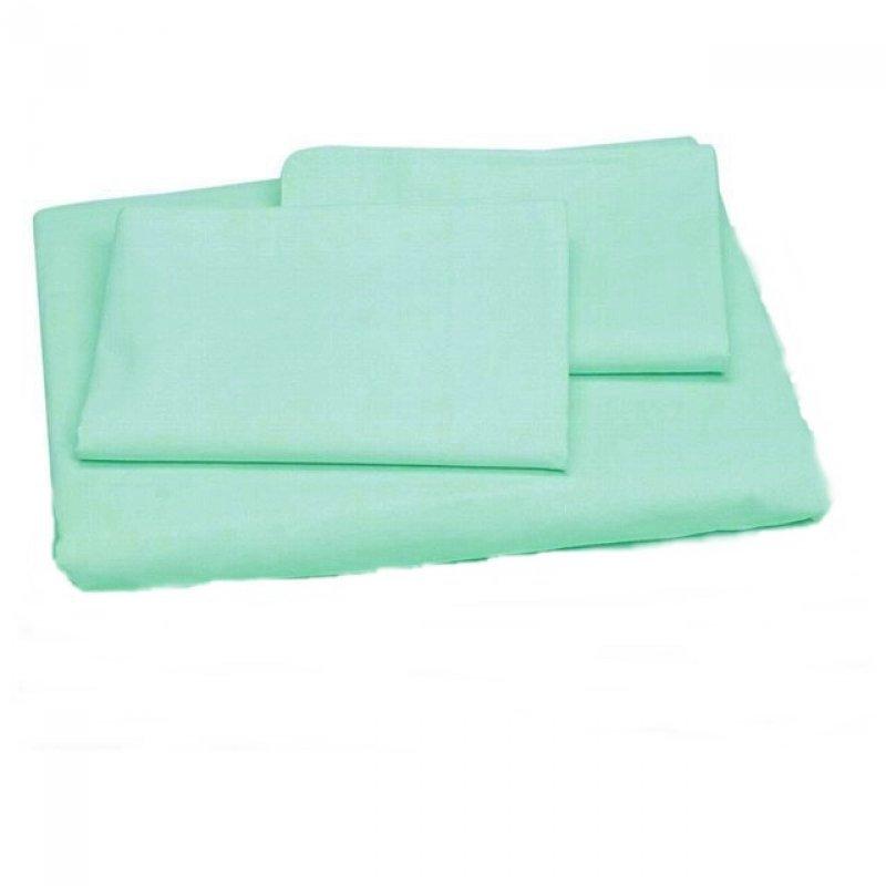 010333a117 Jogo de lençol solteiro 3 peças 200 fios - verde LE verde ...