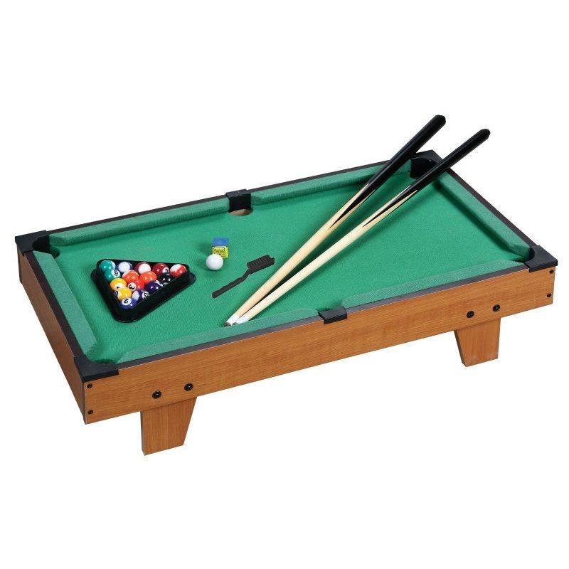 Jogo mesa mini bilhar sinuca snooker 69 X 36 X 19cm completo ... a2cbc7fa00337