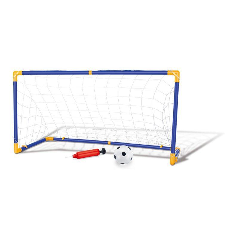 Kit Jogo De Futebol Chute A Gol Com Trave Grande Completo ... 0a7dc4ff35a8d