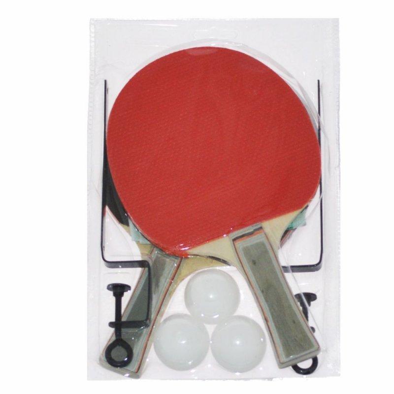 Kit tênis de mesa para 2 jogadores Raquetes 4e0609dda2f21
