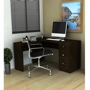 Mesa para Escritório Tecno Mobili ME4101 Tabaco