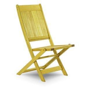 Cadeira Dobrável Acqualung sem Braços Mão e Formão Amarelo