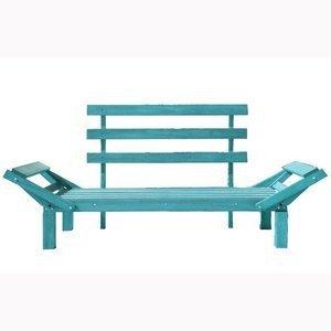 Sofá Cama Country Comfort (sem almofada) Mão e Formão Azul