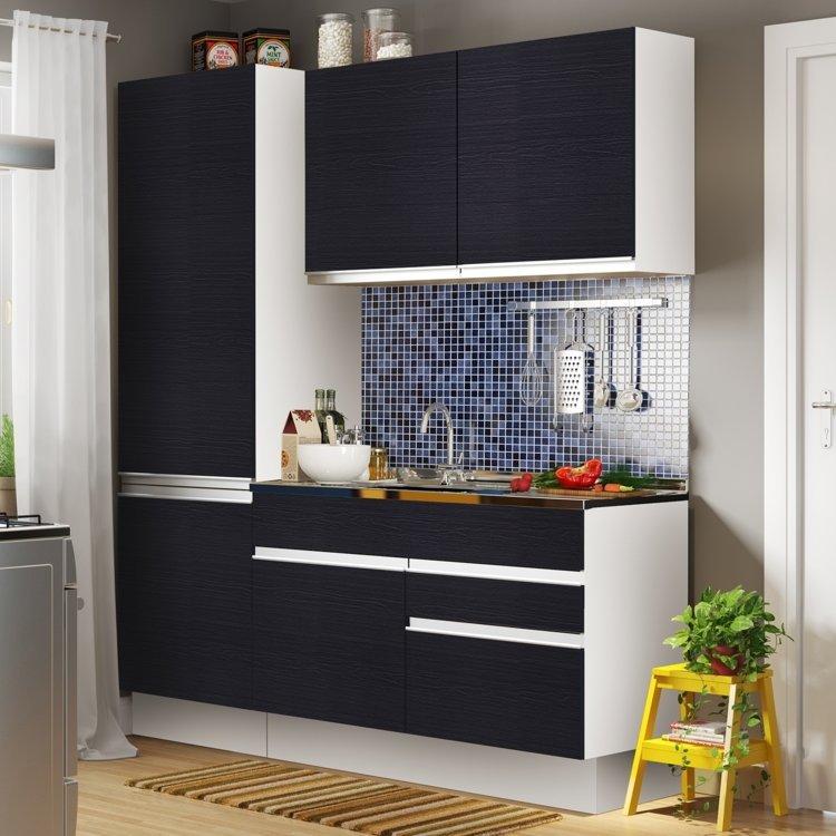 Cozinha Completa Madesa Allegra 5 Portas 3 Gavetas