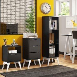 Ambiente Office P248 Tutti Colors Madesa Branco / Preto