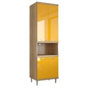 Paneleiro para Forno 5117 Sicília Multimóveis Argila/Amarelo Gema