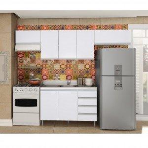 #300300 Cozinha compacta MadeiraMadeira 300x300 Cozinha Compacta Completa cobebct.com #4195 Imagens