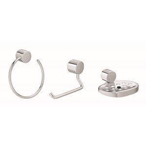 Kit Acessórios para Banheiro 3 Peças Flex Deca Cromado
