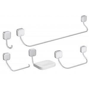 Kit Acessórios para Banheiro Pix 5 Peças Deca Cromado