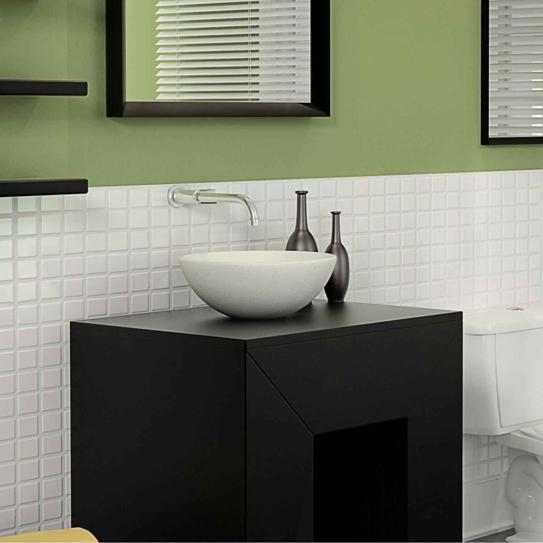 Cuba De Apoio Para Banheiro Eternit Color 38cmx13cm Cairo  R$ 419,90 em Merc -> Pia De Banheiro Eternit