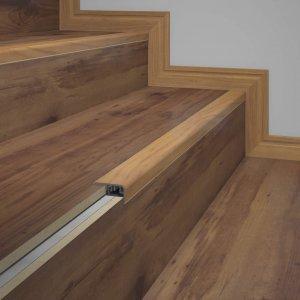 Frontal de Escada Eucafloor Tecno 2cmx4cm Amadeirado Ocre