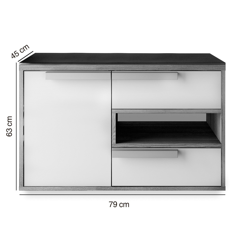 Gabinete para banheiro itatiaia luna igbd1g2 80 n o r for Gabinete de pared 10 ru