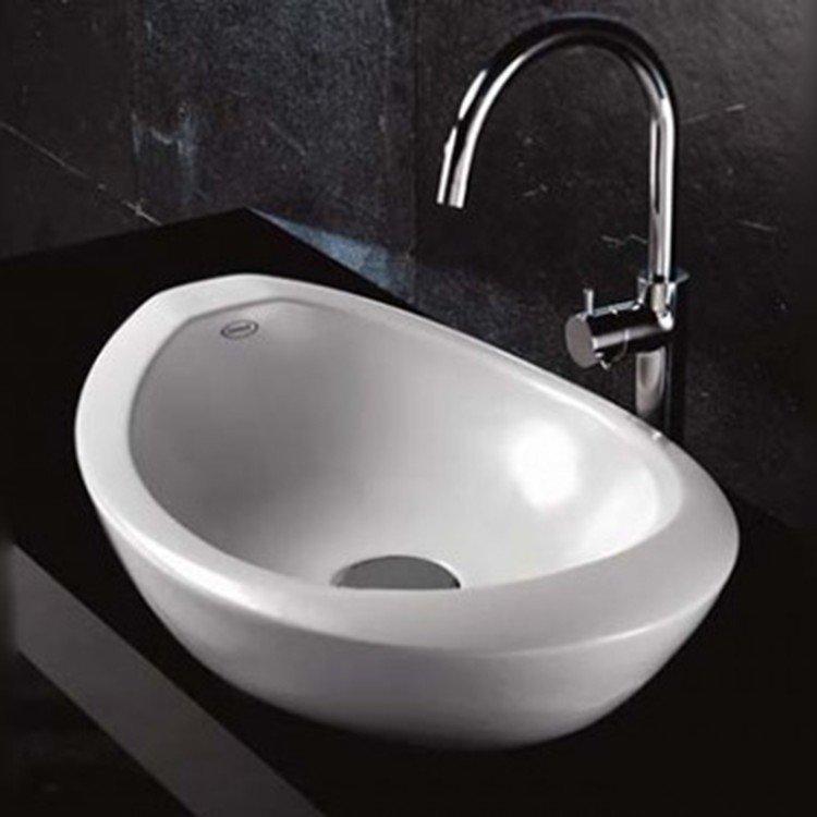 Cuba de Apoio para Banheiro Jacuzzi Morphosis 44cm x 59cm x 20,5cm Branco em  -> Cuba Para Banheiro Jacuzzi