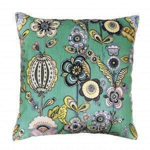 Capa para Almofada Floral Mart Collection 45cmx45cm Verde