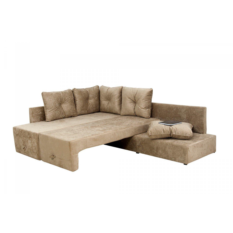 Conjunto Sofá 2 E 3 Lugares Com 2 Almofadas Decorativas: Conjunto Sofá Cama 2 E 3 Lugares Rafaela Matrix Bege