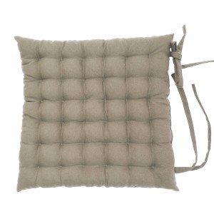 Almofada Futton Liso para Cadeira Thane Niazitex Kaki