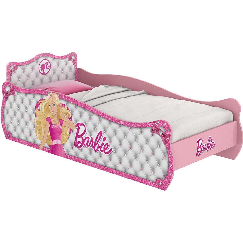 Cama Barbie Star Pura Magia Rosa