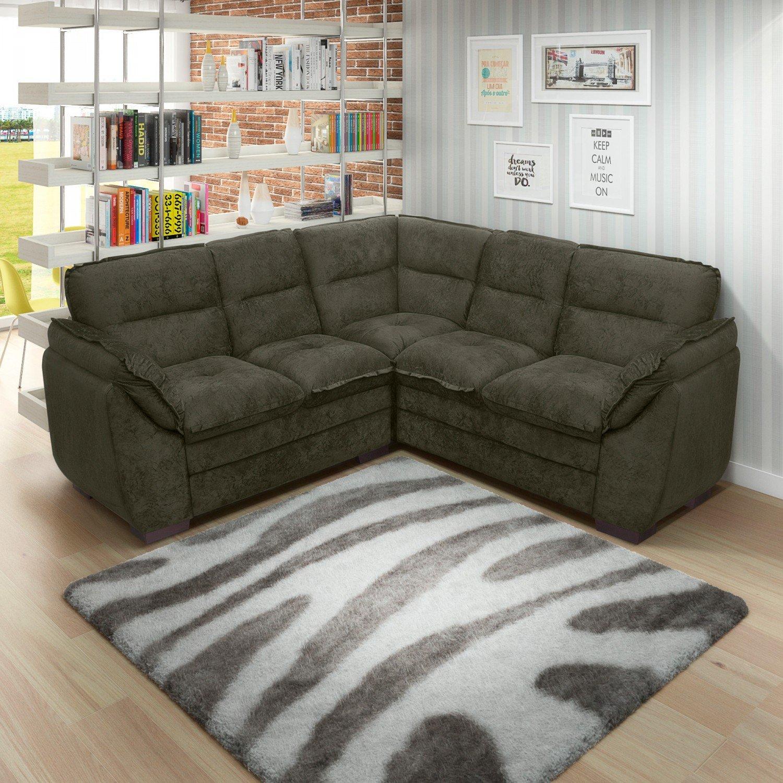 Sof de canto 5 lugares gr cia somopar marrom wt wt r 1 for Casas de sofas en madrid