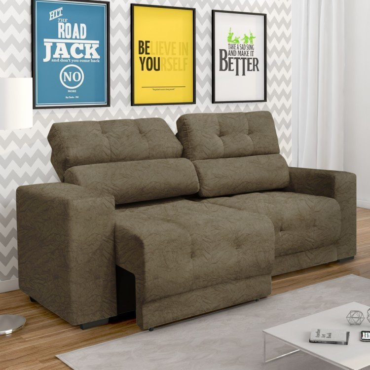 Sof retr til e reclin vel 3 lugares prius new somopar for Sofa 03 lugares retratil e reclinavel