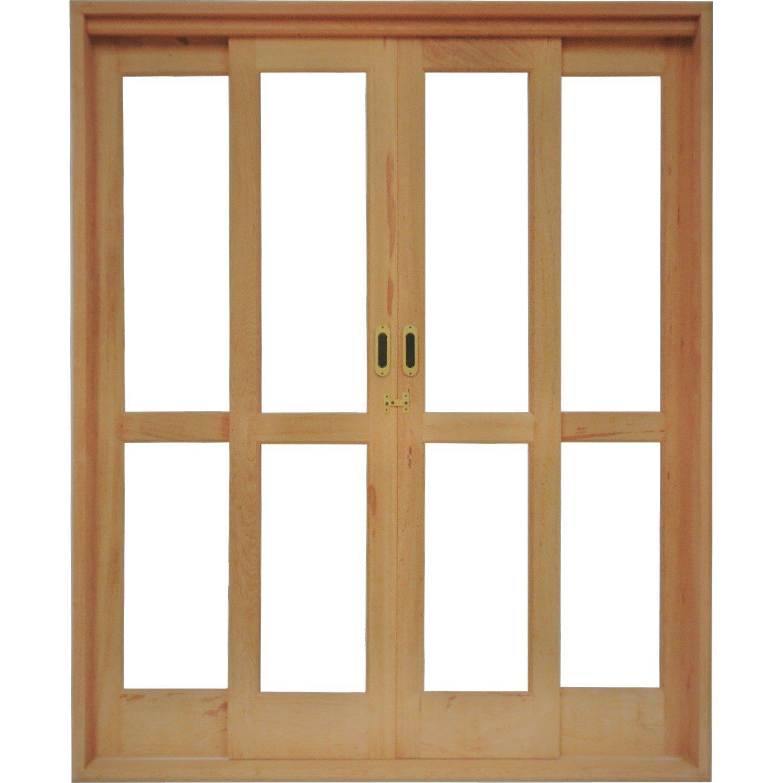 Portas correr madeira pre os no buscap for Porta or