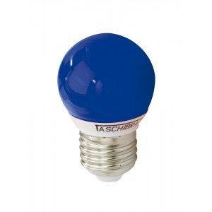 Lâmpada LED Bolinha Taschibra 1W 127V Luz Azul