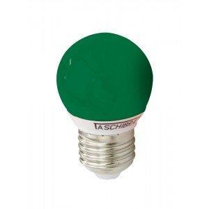 Lâmpada LED Bolinha Taschibra 1W 220V Luz Verde