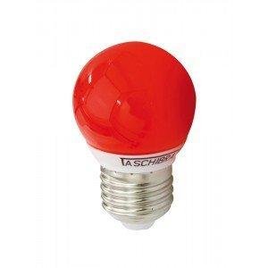 Lâmpada LED Bolinha Taschibra 1W 220V Luz Vermelho