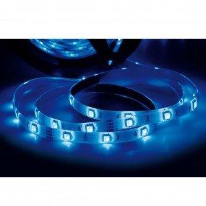 Fita LED 2,5W 30 LEDs/metro 5m Bivolt Taschibra Luz Azul