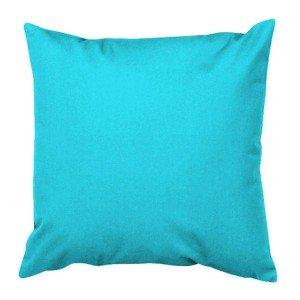 Capa para Almofada 45cm Canvas Tecelagem Damata Azul Caribe