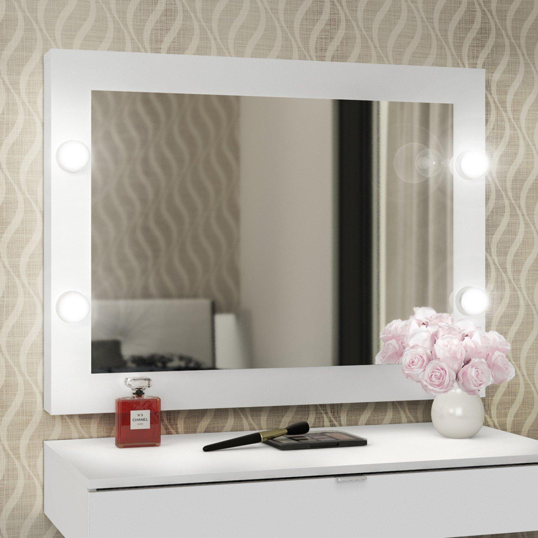 Espelho camarim pe2006 tecno mobili branco jg r 289 90 for Mobili quarto