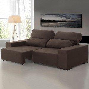 Sof s madeiramadeira for Sofa zeus retratil e reclinavel