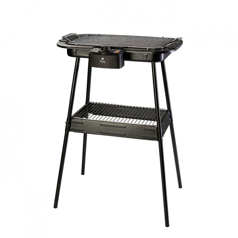 Churrasqueira Elétrica Dora Pedestal Ergonômica 2x1 DC0914S 127V