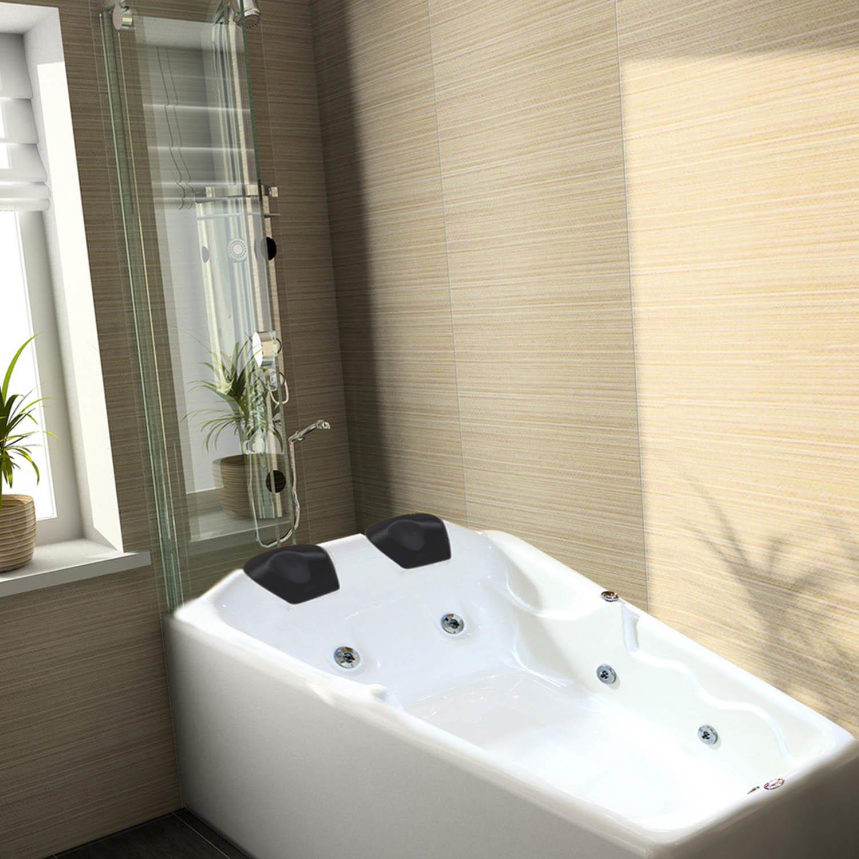 Banheira De Hidromassagem Ouro Fino Stilocril Dupla Top Line  R$ 5999,90 em -> Mini Banheiro Com Banheira