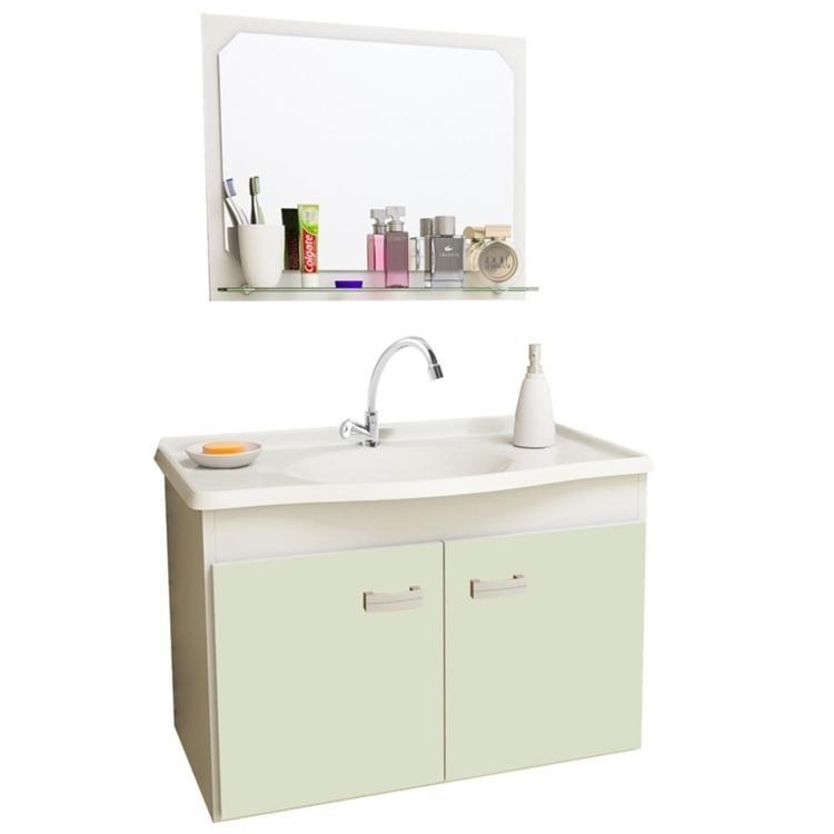 Kit Acessorios Banheiro Deca : Gabinete para banheiro com espelheira gabinetto p?dua