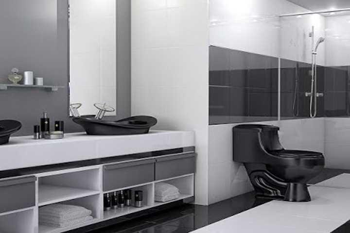 Banheiro Completo Paris em Banheiros Decorados na MadeiraMadeira # Cuba De Sobrepor Para Banheiro Eternit Seattle
