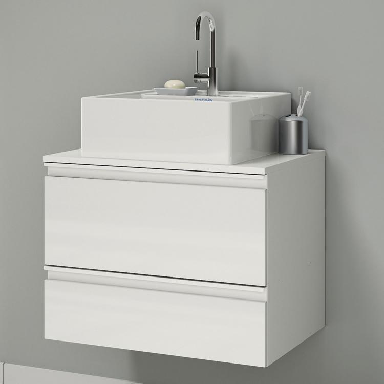 Gabinete para Banheiro Itatiaia Brisa IGBS1G1 60 ART (Não Acompanha Cuba) Bra -> Gabinete Para Banheiro Branco Com Cuba