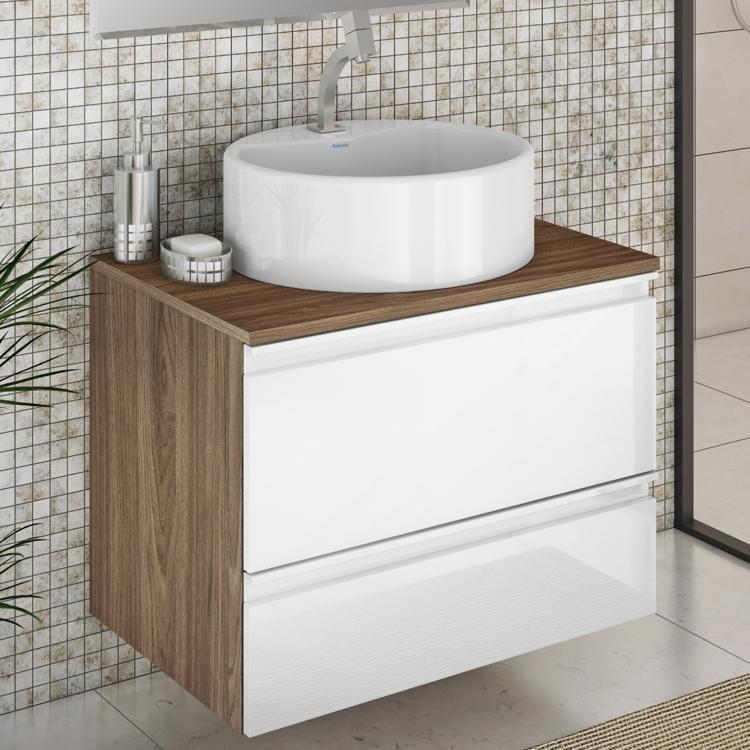 Gabinete para Banheiro Itatiaia Brisa IGBS1G1 60 ART (Não Acompanha Cuba) Car -> Gabinete De Banheiro Bumi