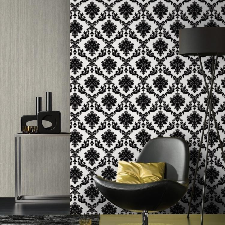 Papel de parede vinilizado casa bella 5 30 m muresco em for Papel decomural muresco