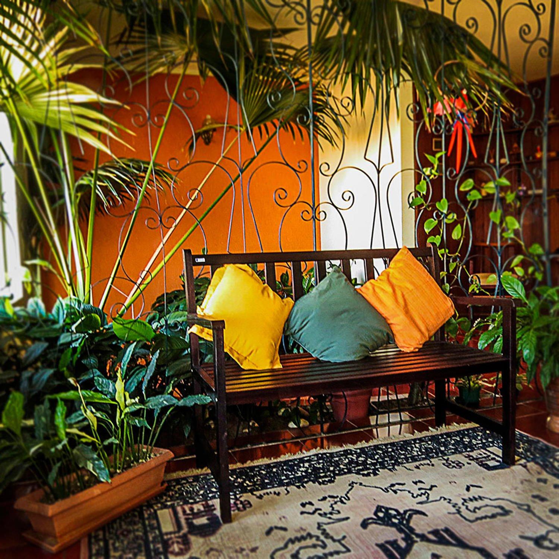 Banco De Jardim 2 Lugares Isadora Design Imbuia - R$ 369 ...