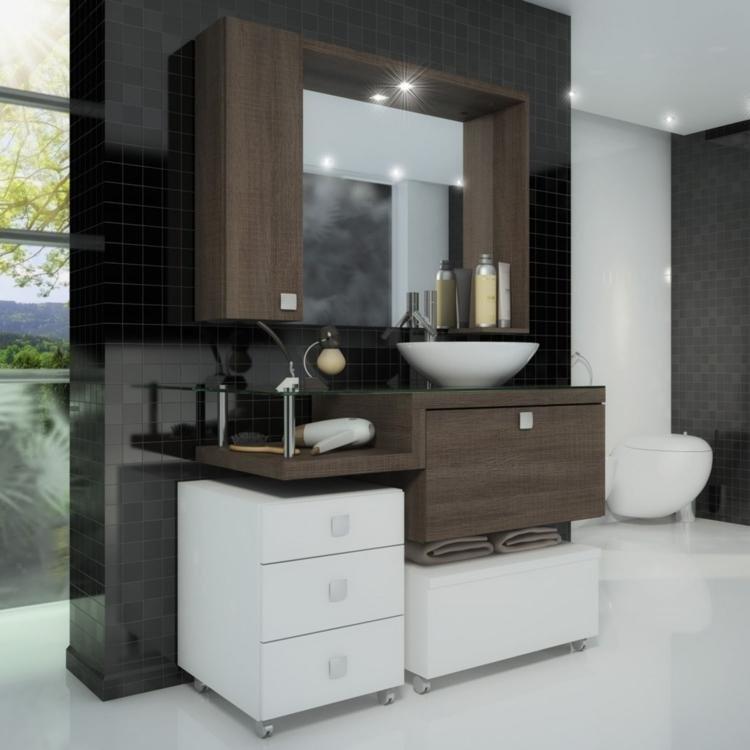 Gabinete para Banheiro com Espelheira Vicenza Celta Móveis (Acompanha CubaN -> Ncm Banheiro Planejado